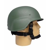 Capacete Tático M88 - Verde Militar Áspero Paintball Airsoft