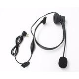 Fone C/ Microfone Headset Ptt P/ Motorola Ht Ep-450 Dtr620