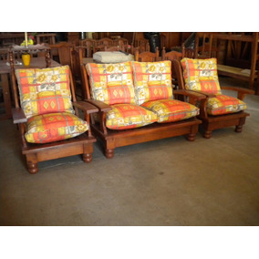 Fundas almohadones para sillones de algarrobo - Sillones con fundas ...