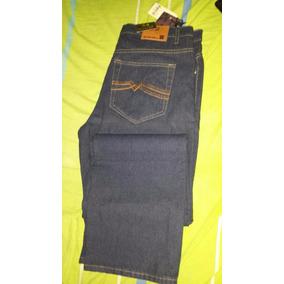 Pantalon Clasico Bota Recta Pantalones Caballero Blue Jeans