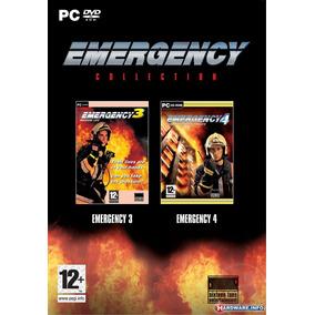 Emergency 3 & Emergency 4 Em Portugues Br Simulador Bombeiro