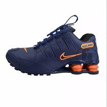 Tenis Nike Shox Nz Masculino 4 Molas Lançamento!!!!!