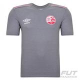 Camiseta Umbro Náutico Concentração 2015 Mescla Futfanatics