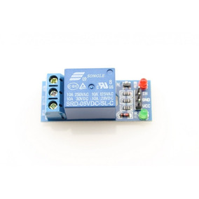 Modulo Relevador 1 Canal (rele Relay), Arduino, Pic, Avr