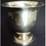 Champanheira Inglesa Shefield Plate Banho De Prata E Strass