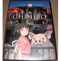 Hayao Miyazaki El Viaje De Chihiro En Dvd