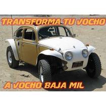Transforma Tu Vocho A Baja Mil (kit Carroceria)