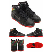 Tênis Nike Sb Dunk High Premium Gasparilla Original