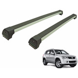 Rack Teto Suzuki Grand Vitara 2005 A 2016 Long Life Prata