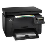 Impresora Laser Multifuncional A Colorl Hp Laserjet Pro M176