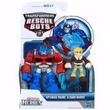 Transformers Rescue Bots Playskool Heroes Hasbro Optimus