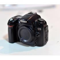 Maquina Fotográfica D80 Nikon + Carregador Sem Bateria