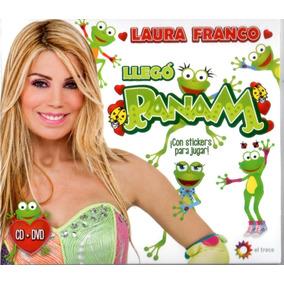 Laura Franco Panam - Llegó Panam Cd+dvd Disponible 24/07/15