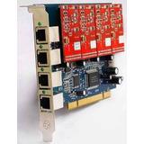 4 Fxo Fxs Asterisk Voip Card Tdm400p Compatible Ip Pbx