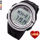 Reloj Skmei Sumergible Sensor Cardíaco Podómetro Calorías