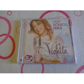 Violetta Hoy Somos Mas Cd Nuevo.