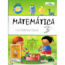 Livro Matemática 3.o Ano - Luiz Roberto Dante - 224 Paginas