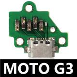 Centro De Carga Moto G3 Xt1031 Xt1042 Xt1033 Nuevo Original