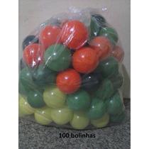 **100 Bolinhas P/ Piscina De Bolinha Direto Da Fabrica