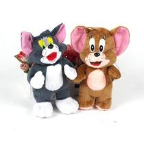 Kit Pelúcia Tom E Jerry Gato E Rato