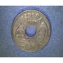 Lucas Col España Moneda 25 Pesetas 1997