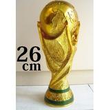 Taça Da Copa Do Mundo Brasil Olimpíada Réplica 26cm Perfeita