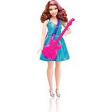 Barbie Muñeca Profesiones Estrella De Pop Con Guitarra,