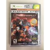 Juego De Xbox Mechassault Platinum Hits