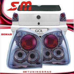 Lanterna Tuning Gol G2 Bola 1994 95 96 97 98 99 00/2002 Fume