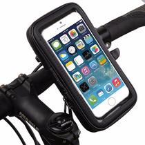 Suporte Bike Celular Impermeavel Iphone 5 6 S5 Moto X2 G4 G3