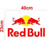Adesivo Red Bull Para Tonéis Barril Tambor