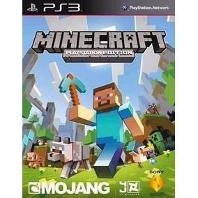 Minecraft Ps3 Edition - Mídia Digital Psn - Português