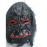 Mascara Gorila Macaco Olhos Vermelhos Festa Haloween