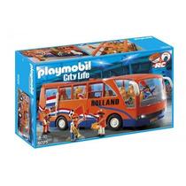 Playmobil Autobús Selección Holandesa #5025