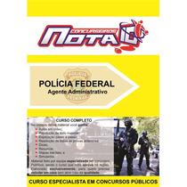 Concurso Polícia Federal 2017 - Apostila Impressa