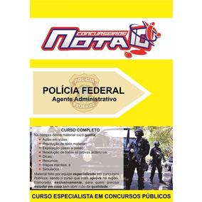 Apostila Concurso Polícia Federal + Vídeo-aulas - 2017