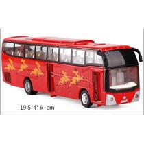 Miniatura Ônibus Panorâmico Tipo Caio Em Metal Escala 1:55