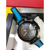 Relógio Moto Gp Tissot Pr T-race Edicao Limitada Borracha