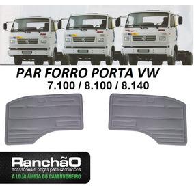 Par Forro Porta Caminhão Vw 7100 8140 8100 7.90 6.90 Antigo