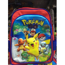 Mochila Pokemon Go Pikachu Em 3 D