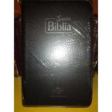 Biblia Reina Valera 1960 Con Forro Negro Papel Económico