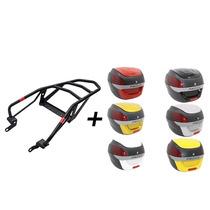 Kit Tenere 250 (bagageiro Givi + Bau Proos 29 L) Vermelho