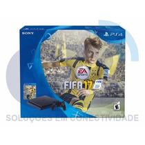 Playstation 4 Slim 500gb + Fifa 17 - 12x Sem Juros
