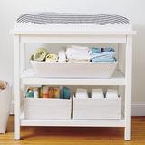 Mesa Cambiador De Bebe Blanco Mueble
