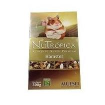 Ração Super Premium Hamster Muesli - 300g - Nutrópica