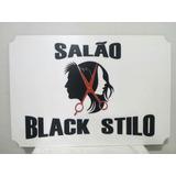 Placa Decoração De Salão Cabeleleiros Barbearia