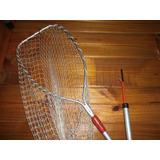 Articulo De Pesca Copo Extencible Y Bichero Sin Uso Oferta V