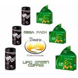 * Poweza Mega Pack Lipo Green Coffee 3+3*