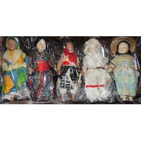 Muñecas De Porcelana Lote De 5 Nuevas E Impecables Sin Abrir