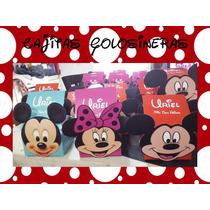 Souvenirs Cajas Carameleras Minnie, Mickey, Frozen, Cars